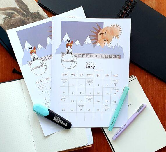 Kalendarz 2021 – luty