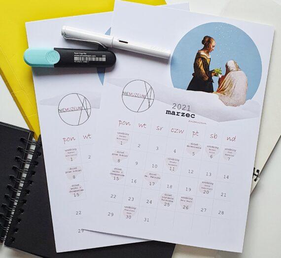 Kalendarz 2021 – marzec